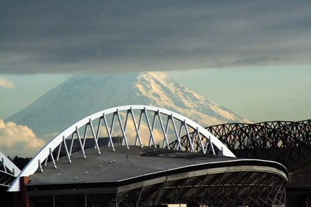 Mount Rainer and Qwest
