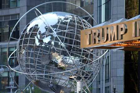 Trump International Globe